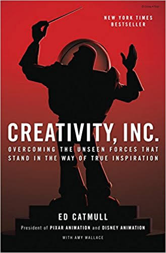 Creativity INC – Ed Catmull – 5Stars
